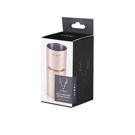Copper Viski 5321.0 Summit Matte Modern Jigger by
