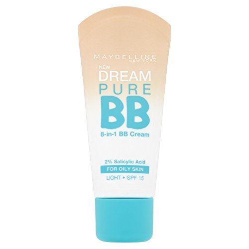 Maybelline Dream Pure BB Cream SPF15 - 30 ml, Light by Maybelline