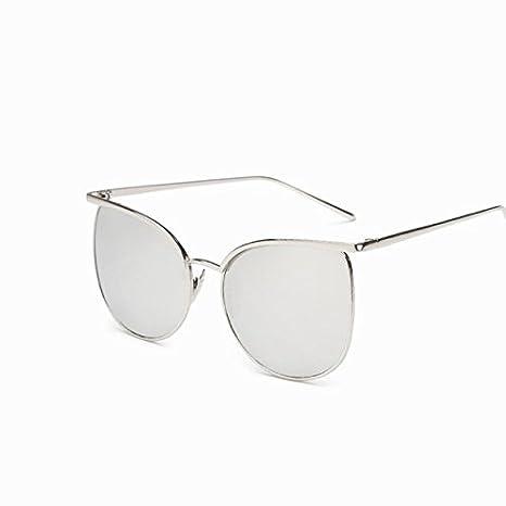 c4adc81754 Tocoss (TM Mujeres Reflectante Gafas de Sol Fashion Mujer Marca Funda  Espejo Gafas de Sol