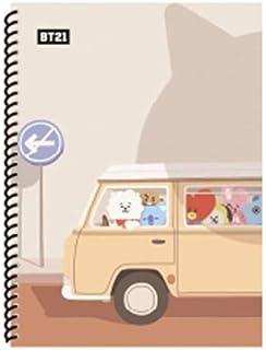 Amazon.com : Cute Rabbit Molang Plastic Cover Notebook ...