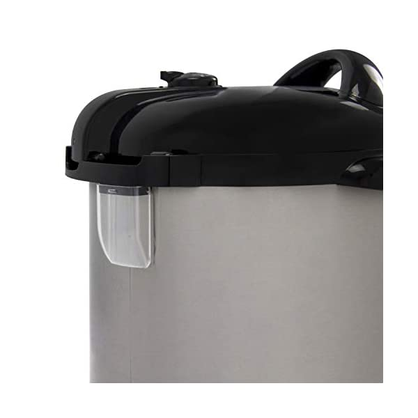 NESCO NPC-9 Smart Pressure Canner and Cooker, 9.5 quart, Stainless Steel 6