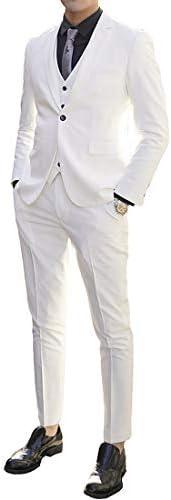 スーツ メンズ フォーマル スーツセットアップ スリーピーススーツ メンズ スリムスーツ リクルートスーツ入学式結婚式二次会披露宴ビジネスパーティー