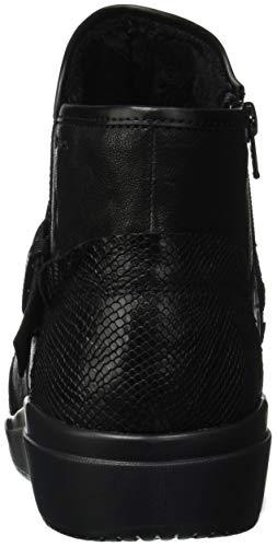 Black Mujer D Geox Tahina A C9999 para Botines dzqXdYwx