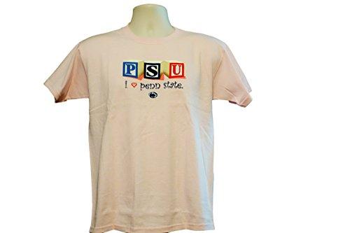NCAA Penn State Nittany Lions PSU Pink Short Sleeved Shirt C