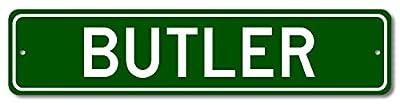 Custom Aluminum Sign BUTLER, KENTUCKY US City Name Sign