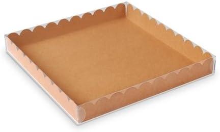 Selfpackaging Caja para Galletas o Macarons con Tapa Transparente ...