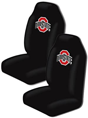 Northwest Two Officially Licensed NCAA Universal Fit Highback Seat Covers