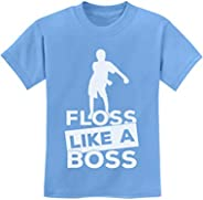 Tstars - Floss Like a Boss Funny Emote Flossing Dance Youth Kids T-Shirt