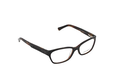 Emporio Armani EA 3004 Women's Eyeglasses Black On Havana - Glasses Armani Womens Giorgio