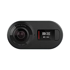 Rylo 5.8K 360 Video Camera - (iPhone + Android) - Breakthrough Stabilization, Includes 16GB SD Card and Everyday Case, Black