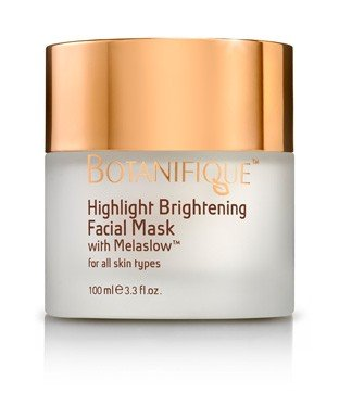 BOTANIFIQUE - Highlight Brightening Facial Mask – nourish the facial skin and promote a youthful, even tone - 100ML B07BLZ9RL4