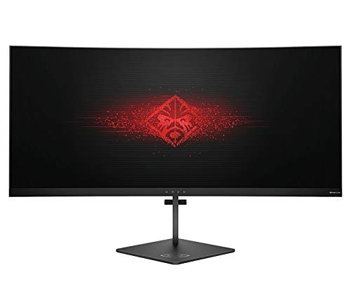 OMEN X by HP 35-inch Ultra WQHD Curved Gaming Monitor 21:9, 100Hz,...