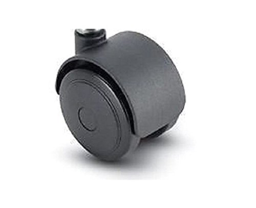 """Pacer Twin Wheel Caster 2-1/2"""" Urethane Tread Wheel, used for sale  Delivered anywhere in Canada"""