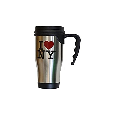 New York Subway Map Drinking Glass 16oz.I Love Ny Travel Mug Officially Licensed Heart New York Dept Cup Stainless Steel