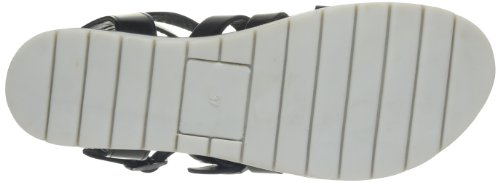 Jonak 14120 304-14120/cu/e4 - Sandalias de cuero para mujer, color negro, talla 36 Negro (Noir)