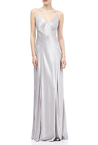 sports shoes new products thoughts on Ghost Hollywood Cassidy Maxi Evening Dress Silver Medium UK ...
