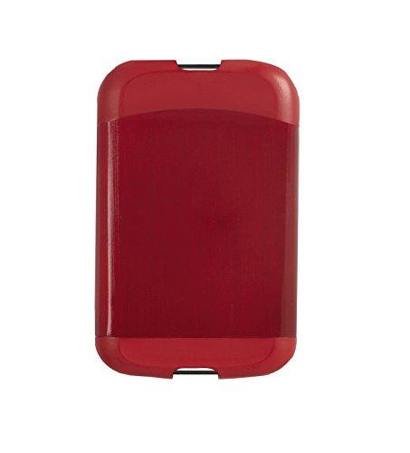 Umbra Metallic Bungee Cord Card Case, Red