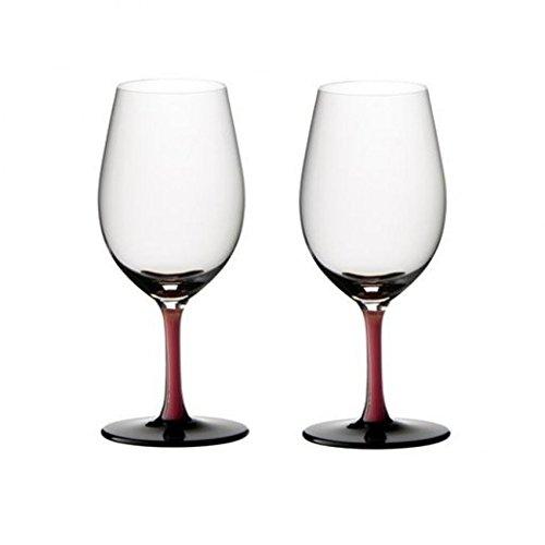 Vintage Port Glass (Riedel Sommeliers R-Black Series Leaded Crystal Vintage Port Wine Glass, Set of 2)