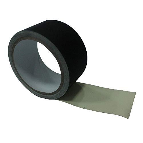 ZXYWW Adhesivo No Reflectante Negro 2 Pulg. × 32 Pies, Fácil De Rasgar, Sin Residuos