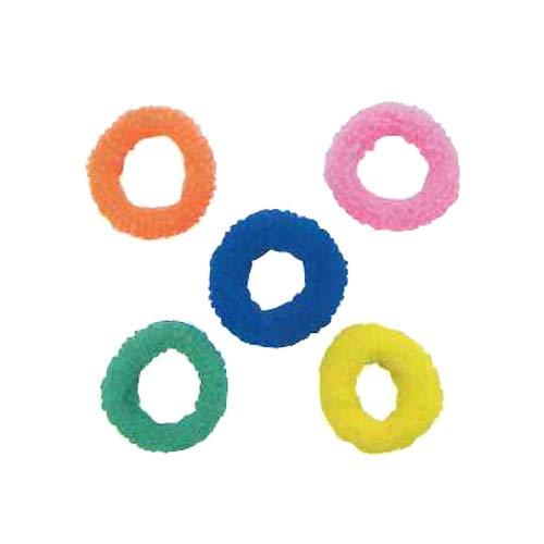 上品な ホテルアメニティ (40×10mm) ヘアゴム 業務用 パイルゴム Mサイズ (40×10mm) 全5色 全5色 おまかせアソート5000個セット B07MZ4SSSN パイルゴム 1個 1個, BellBreeze:87fff0a4 --- arianechie.dominiotemporario.com