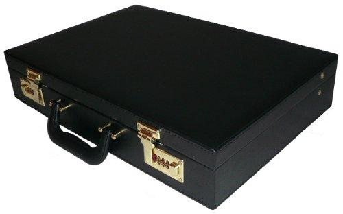 World Traveler Executive Business Attache Case, Black, One Size - Executive Box