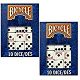 - Bicycle Dice 10 Die Package (2-Pack)