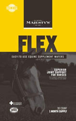 Majesty's Flex Wafers - Joint therapy for horses - 30 count bag