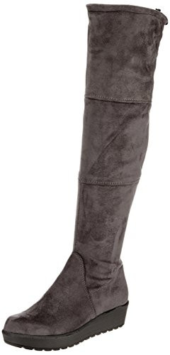 Tamaris Ladies 25617 Stivali Grigio (antracite)