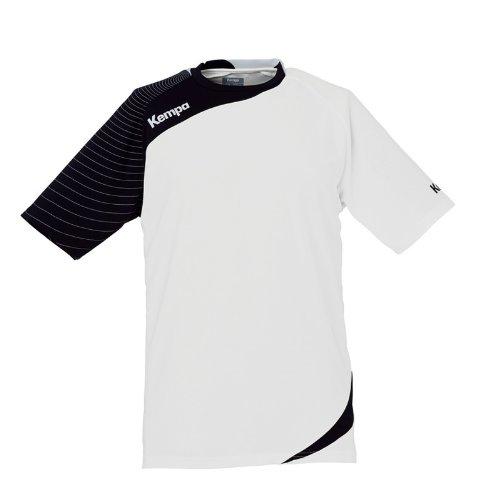 Kempa CIRCLE Shirt Damen - weiß/schwarz, Größe:L