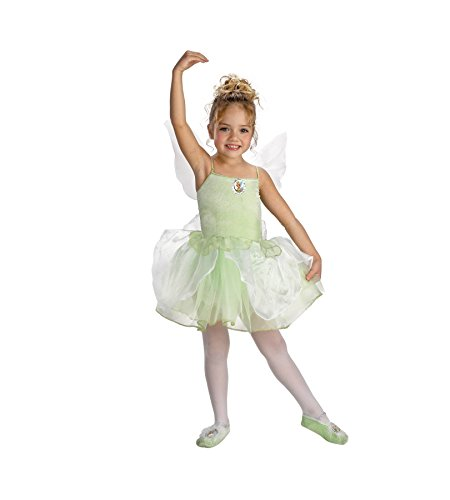 Tinker Bell Ballerina Costume - Small (Tinkerbell And Peter Pan Costumes For Adults)