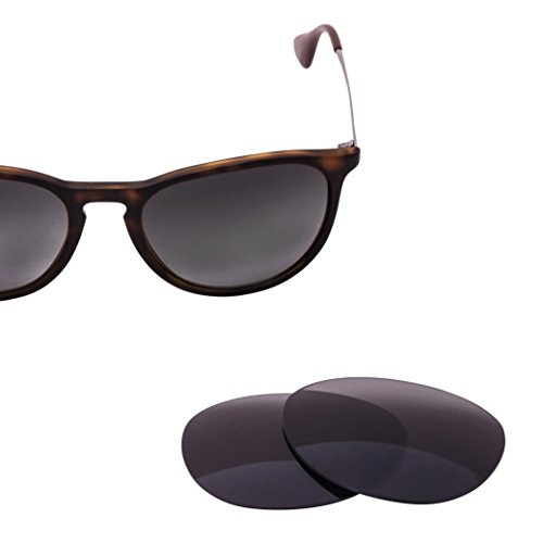 LenzFlip Replacement Lenses for Ray Ban Erika RB4171 - Gray Polarized - For Lens Ray Bans Replacement