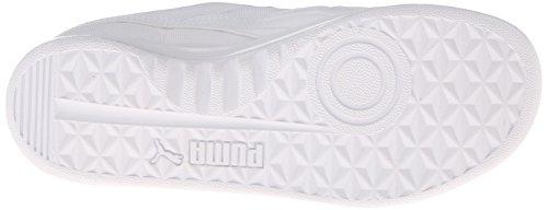 Puma Kvinners California 2 Skinn Sneaker Hvit / Hvit / Grå Fiolett
