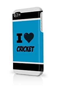 TYH - Cricket Blue iPhone 5/5S Case - For iPhone 5/5S - Designer PC Case Verizon AT&T Sprint phone case