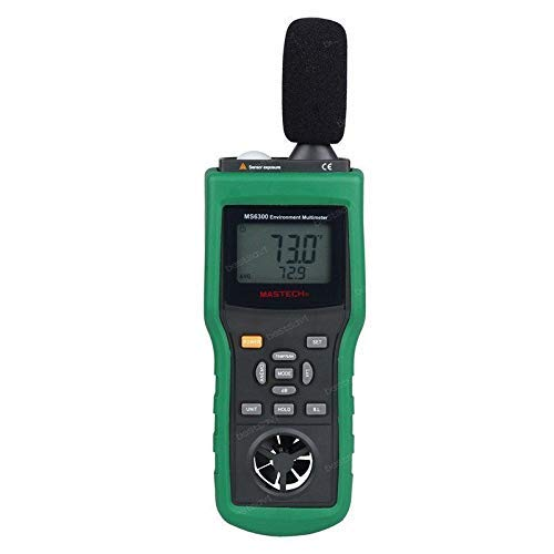 MASTECH MS6300デジタルマルチファンクションメーター温度湿度サウンドメーター   B07KH68KSX