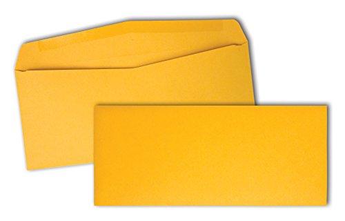 Quality Park Kraft Business Envelopes, 28lb, #10, 4-1/8 x 9-1/2, 500/Box (11162) (Commercial 500 Envelopes)