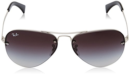 Argent Ban 3449 RB Silver Sonnenbrille Ray OUgwqIq