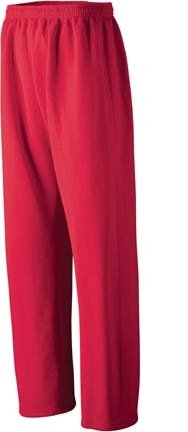 Augusta Sportswear Adult Open Bottom Heavyweight Sweatpants - Athletic Heather (3X-Large) from