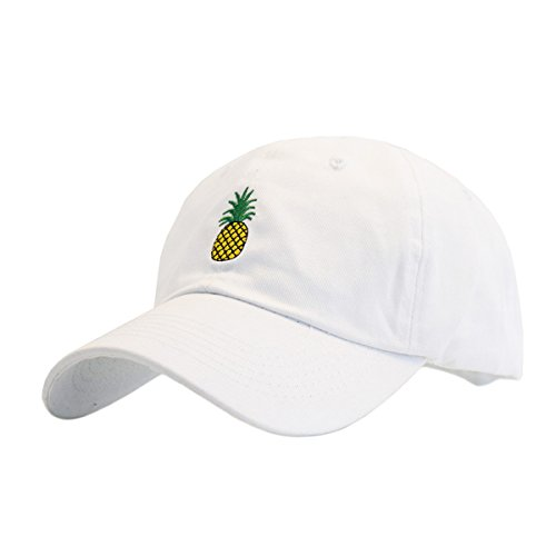 d6fd798eac406 Himozoo Pineapple Embroidery Dad Hat Adjustable Cotton Baseball Cap For Men  Womens - Buy Online in UAE.