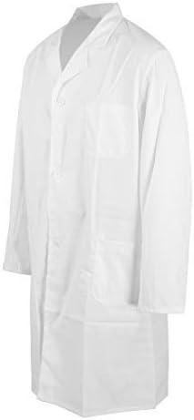 MultiWare Blouse Blanche De Laboratoire Qualit/é Sup/érieure Unisexe Coton Poly M