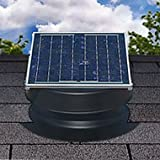 Solar Attic Fan 30-watt – Black – with 25-year Warranty – Florida Rated Picture