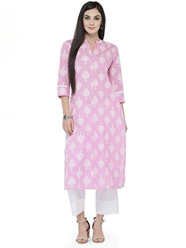 Women Kurta Kurti Cotton Indian Designer Bollywood Top Tunic Ethnic Dress S XXL