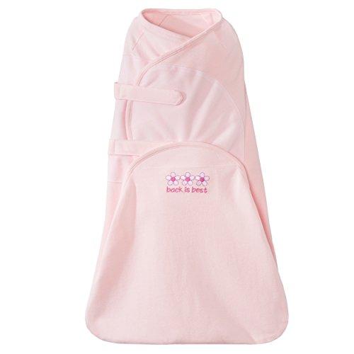(Halo Swaddlesure Adjustable Swaddling Pouch, Pink, Newborn)