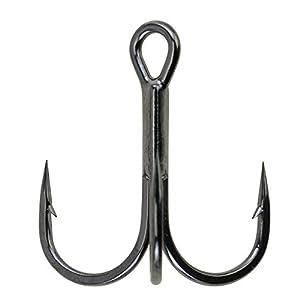 Berkley Fusion19 Treble 1 x Hooks, Black Nickel Plated, Extra Sharp, 12 Sizes from 16-3/0