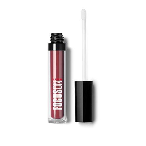 FocusOn Liquid Matte Lipstick, Candy Apple, 0.21 Ounce