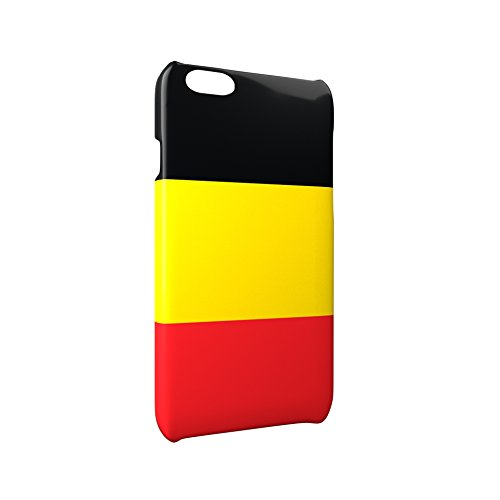 Flag of Belgium Glossy Hard Snap-On Protective iPhone 6 Plus + / 6S Plus + Case Cover