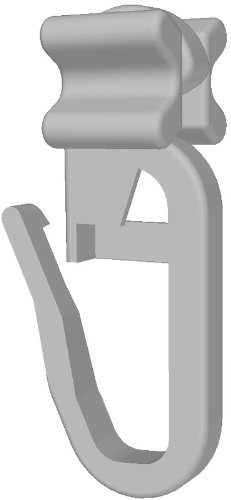 gardineum falte/X alianti per Ganci per tende Confezione da 100pezzi