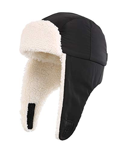 776226559 Home Prefer Toddler Boys Girls Sherpa Earflap Hat Kids Winter Hat ...