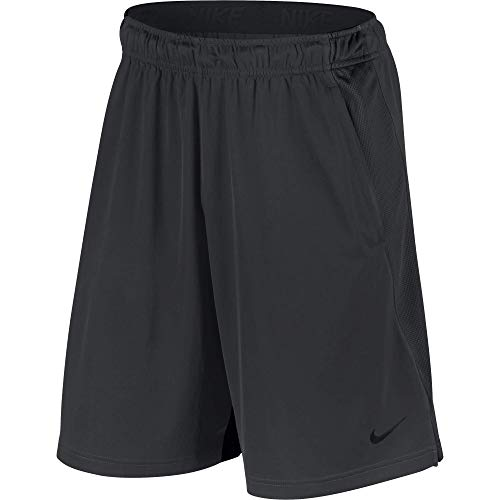 Nike Men's Dry Training Shorts, Anthracite/Black, Large (Nike Embroidered Shorts)