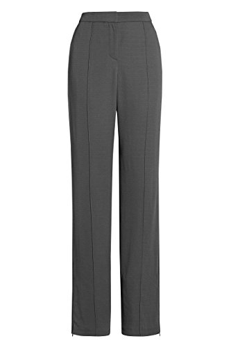 next Mujer Premium Pantalones Holgados Estilo Formal Ejecutivo Gris