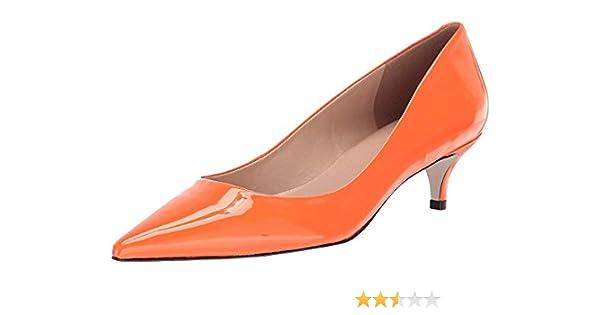 save off e6aac 52dc6 Amazon.com   Massimo Matteo Women's Pointy Toe Kitten Heel ...